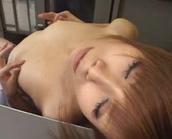【妄想潮】妄想乳首オナニーで感じまくるJK-7:55
